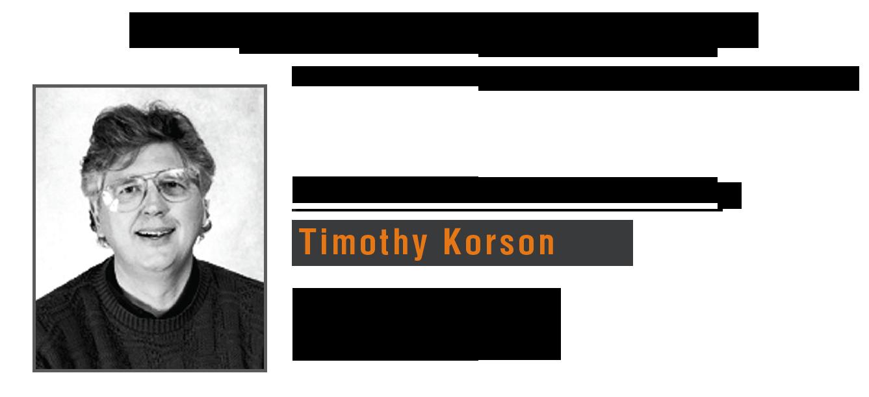 timothy korson training india delhi bangalore