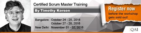 Tim Korson Trainings
