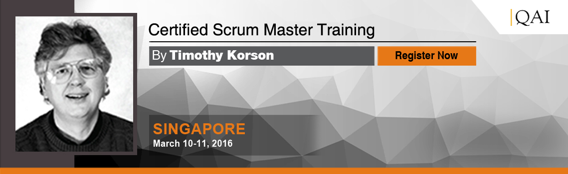 Certified Scrum Master Csm Trainings Singapore A Series By Dr
