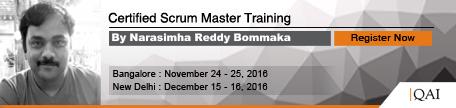 Narasimha Reddy Trainings