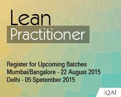QAI Certified Lean Practitioner