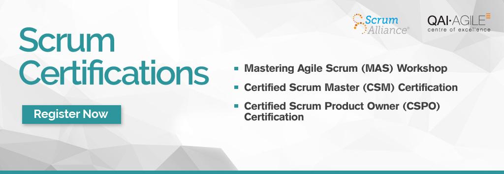 Scrum Certifications India Delhi
